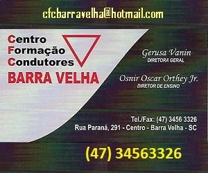 CFC BARRA VELHA 1