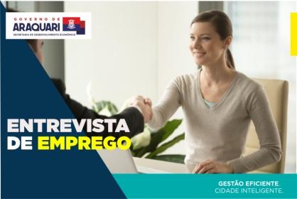 PROCESSO SELETIVO PARA 10 VAGAS DE AUXILIAR DE PRODUÇÃO