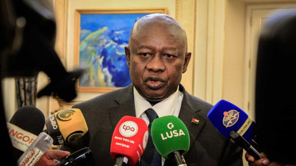 PRESIDENTE DO PARLAMENTO TOMA POSSE NA GUINÉ-BISSAU