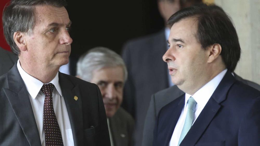 AVALIAÇÃO POSITIVA DE MAIA NA CONVERSA COM BOLSONARO E GOVERNADORES