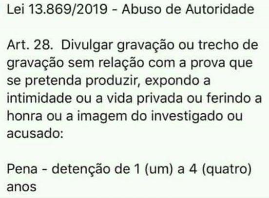 BOLSONARO CITOU ABUSO DE AUTORIDADE EM POSTAGEM DE HOJE