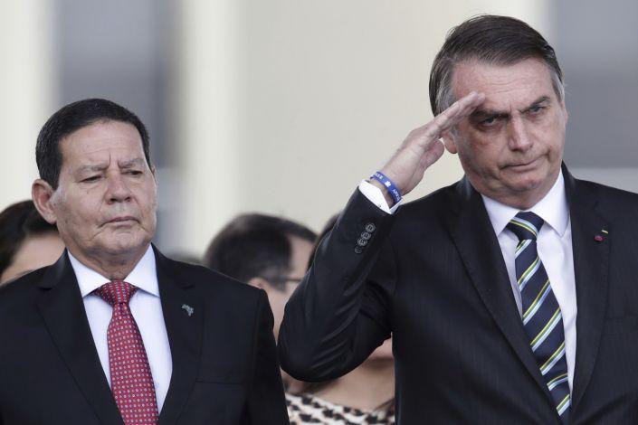 PAZ PARA BOLSONARO GOVERNAR PEDE MOURÃO