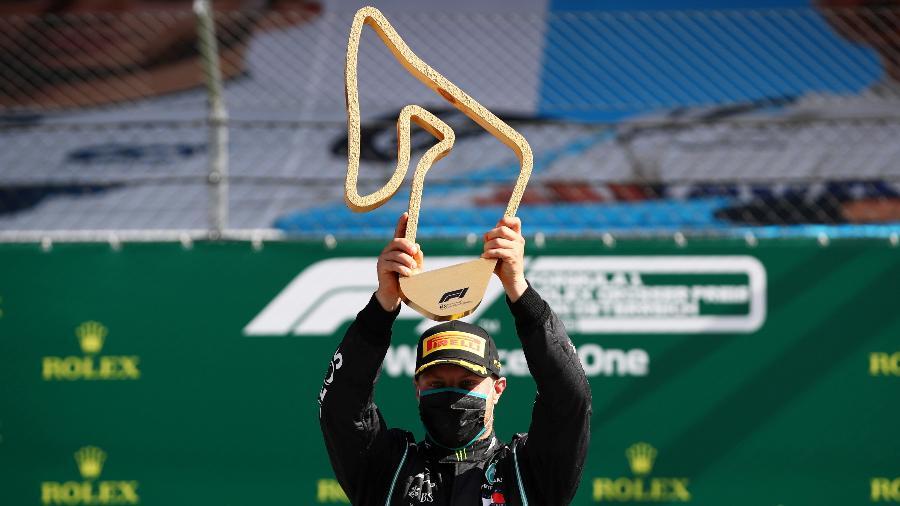 NA F1 BOTTAS VENCE GP DA ÁUSTRIA